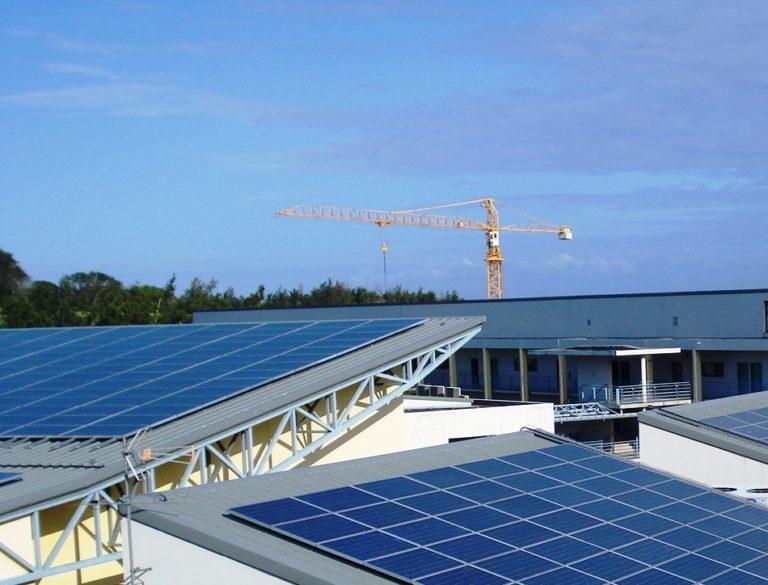 Lycée BEL AIR, toiture photovoltaïque