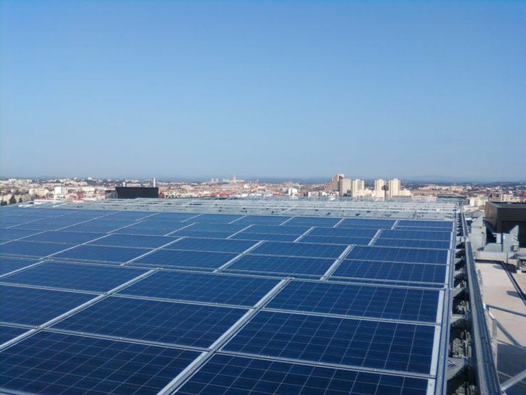Toiture photovoltaïque Mairie de Montpellier par Apex Energies
