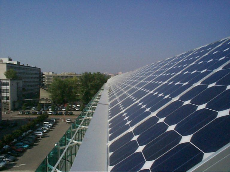 Toiture photovoltaïque INSA Lyon