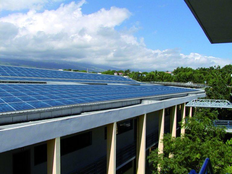 Lycée BEL AIR, toiture photovoltaïque, Apex Energies