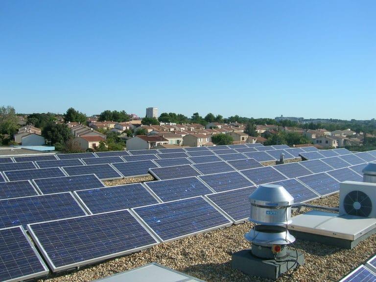 Toiture photovoltaïque Mairie de Juvignac