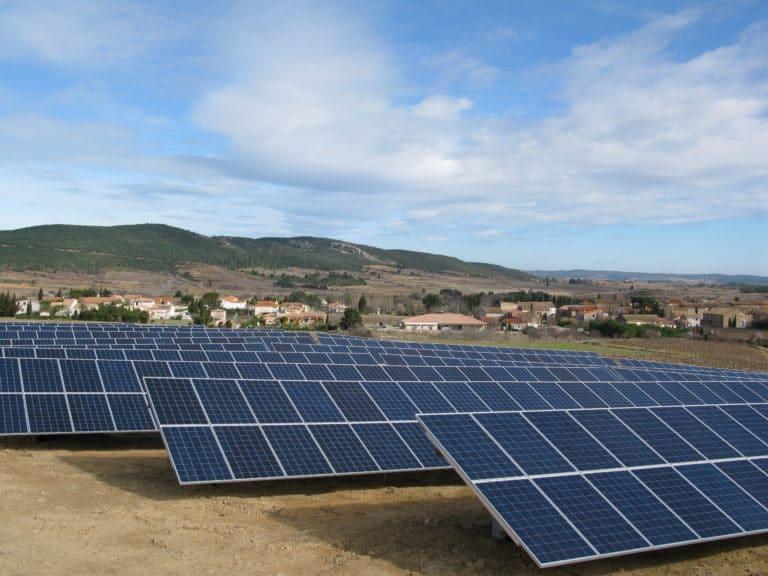 Parc photovoltaïque Thézan