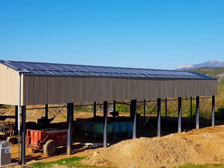 Hangar Agricole photovoltaïque PACA