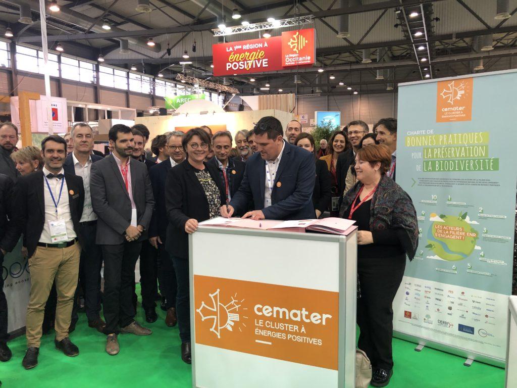 Forum Energaia stand Apex Energies
