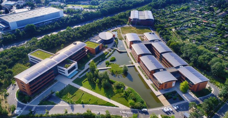Campus SEB panneaux photovoltaïques