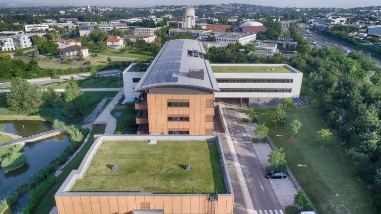 Campus SEB toiture photovoltaïque