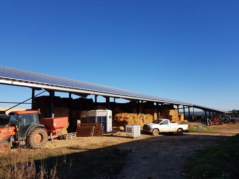Hangar Agricole photovoltaïque par Apex Energies