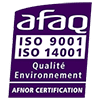 Certification, ISO 9001, ISO 14001