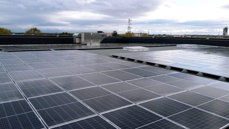 Parc des expos de Colmar, toiture photovoltaique